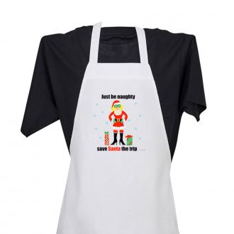 Just Be Naughty . . . - Apron