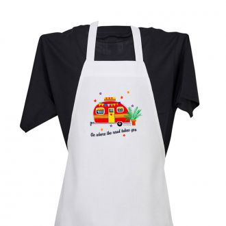 Where the Road . . . (camper) - Apron