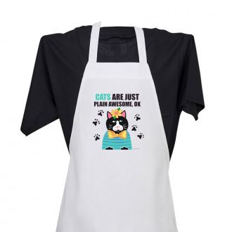 Cats . . . Awesome - Apron