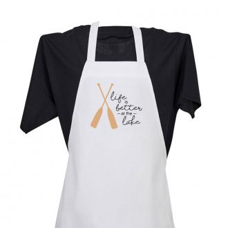 Life Is Better At The Lake - Apron