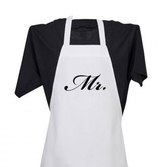 Mr. (in script) - Apron