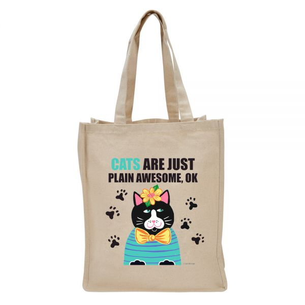 Cats . . . Awesome - Tote Bag