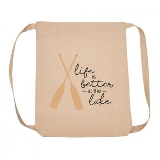 Life Is Better At The Lake - Backpack
