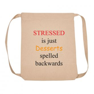 Stressed is Desserts . . . - Backpack