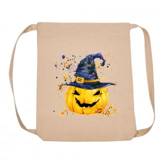 Pumpkin with Hat - Backpack
