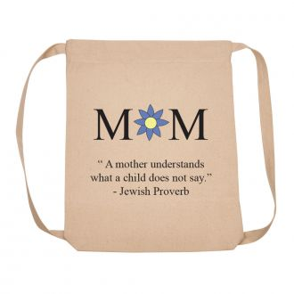 MOM (Jewish Proverb) - Backpack