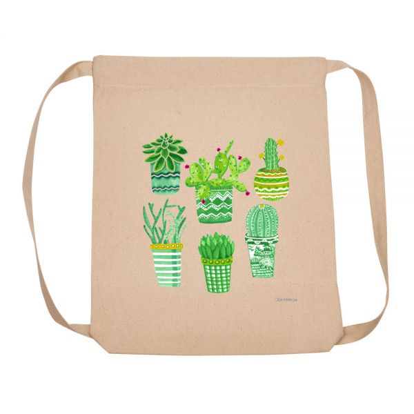 Succulent Plant Collection - Backpack