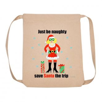 Just Be Naughty . . . - Backpack