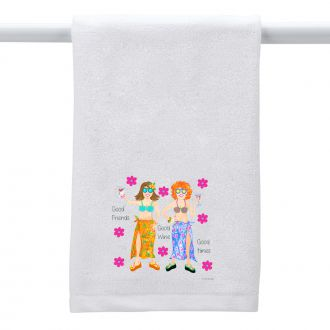Good Friends...Hand Towel