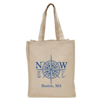 Longitude & Latitude (add location) - Tote Bag
