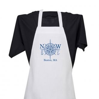 Longitude & Latitude (add location) - Apron