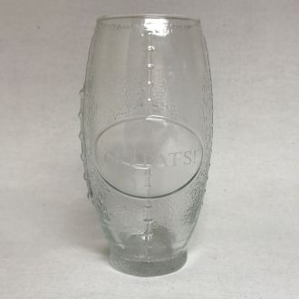 FOOTBALL SHAPED GLASS - 23 OZ. CAPACITY