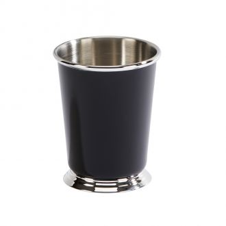 Black Stainless Steel Mint Julep Cup, 11 Oz
