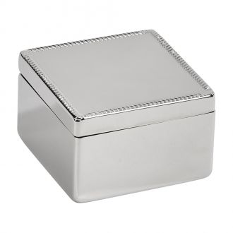 Square Hinged Box, NP 2.75