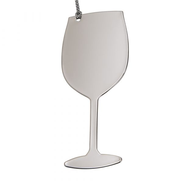 Wine Glass Ornament NP 3.375