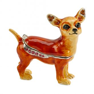 Standing Dog Trinket Box 2.25