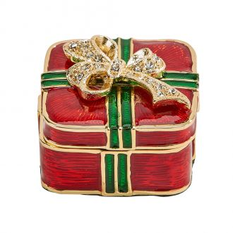 Red/Green Gift Trinket Box 1