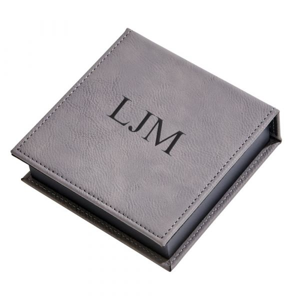 Leatherette Box Grey 1.5