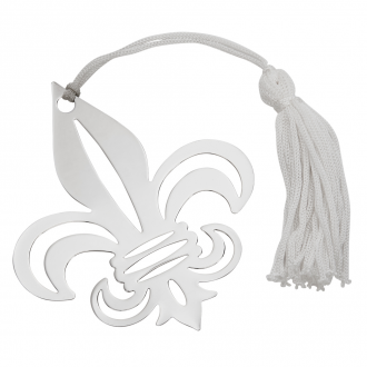 FLEUR DE LIS SHAPED BOOKMARK