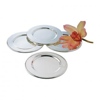 SET OF 4 ROUNDS DISHES / TRAYS, 6