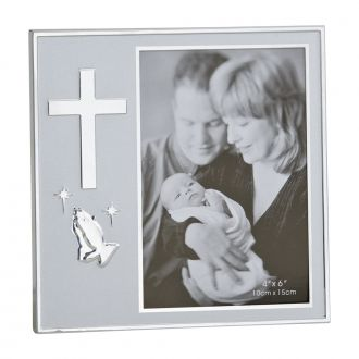 RELIGIOUS ICON FRAME HOLDS 4