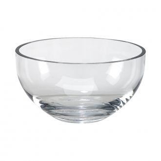 OPTIC CRYSTAL SALAD BOWL, 9.75