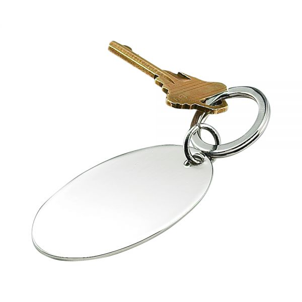 OVAL SHAPED KEY CHAIN