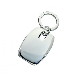 PUFFED RECTANGLE KEY CHAIN