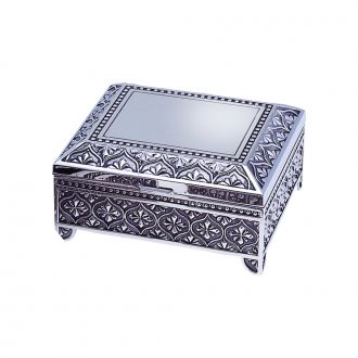 SQUARE JEWELRY BOX, 4
