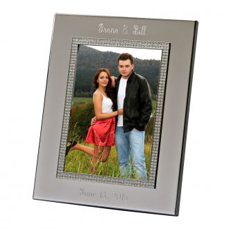 WIDE BORDER GLITTER GALORE FRAME HOLDS 5