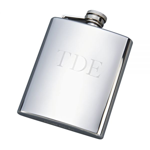 POLISHED FINISH FLASK