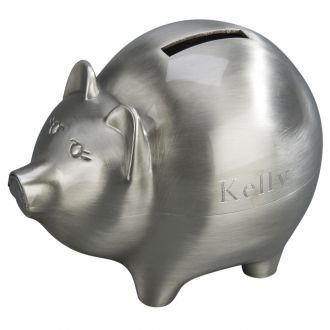 LARGE PIGGY BANK WITH MATTE FINISH