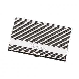 LINEAR HINGED CARD CASE