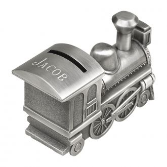 TRAIN BANK WITH MATTE FINISH