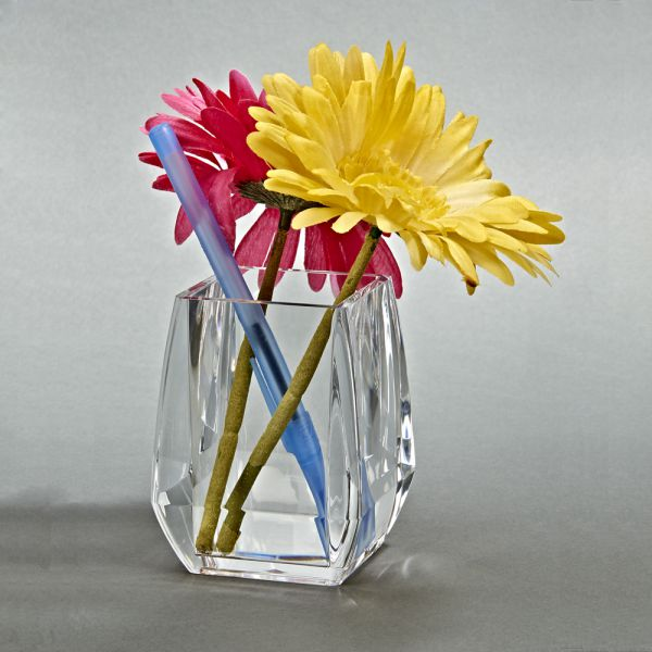 CLEARYLIC SQUARE PENCIL CUP